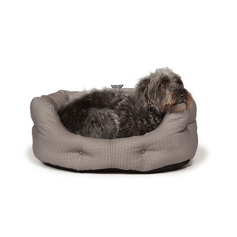 Deluxe Slumber Bed – Vintage Dogstooth