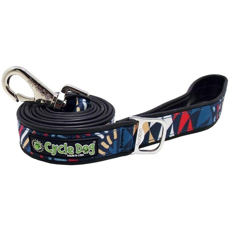 Black-Multi Modern Art Dog Lead