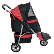 InnoPet - Pet Buggy - Black Red