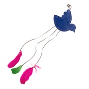 Creature Clothes - Feathery Bird Cat Toy