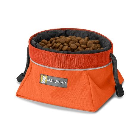 Quencher Cinch Top Bowl - Pumpkin Orange 2