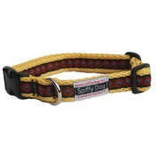 SpiffyDog - Yellow Sunfire Print Collar