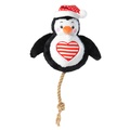 Penguin Snowball Dog Toy