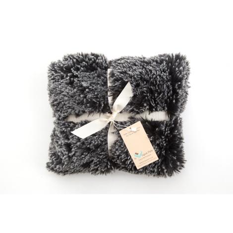 Shaggy Pet Blanket - Black 3
