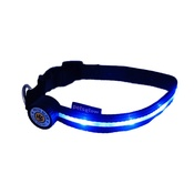PetsGlow - Spotlight LED Dog Collar - Blue