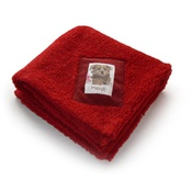 Princey's Blankets - Personalised Red Luxury Sherpa Blanket