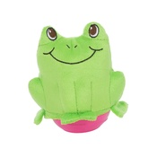 Outward Hound - Wobblerz Plush Dog Toy – Frog