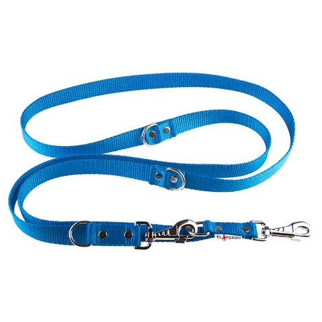 Adjustable Juicy Style Dog Lead - Sky Blue
