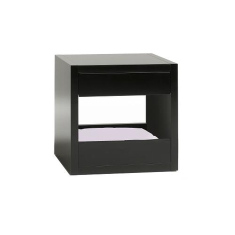 Bloq Pet Bed & Side Table - Black 10