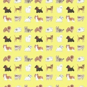 Kate Garey - Little Dogs Gift Paper