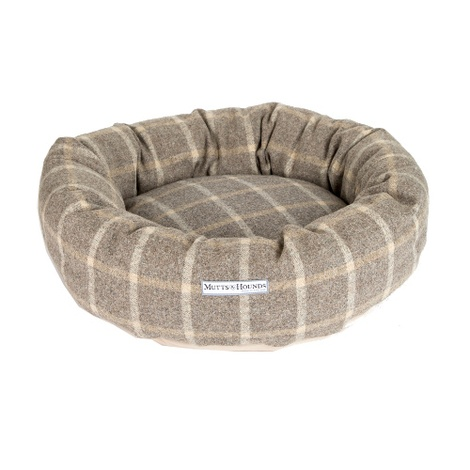 Slate Tweed Donut Bed 2