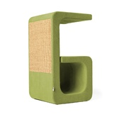 Catworks - Scratching Post - Letter G - Green