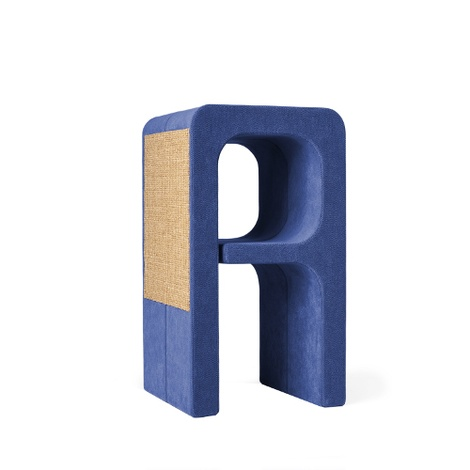 Scratching Post - Letter A - Blue