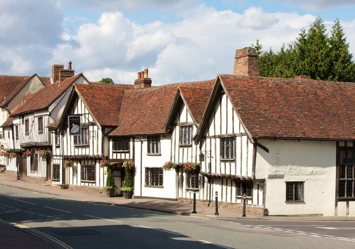 The Swan at Lavenham, Suffolk 1