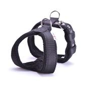 El Perro - 2.5cm Width Fleece Comfort Dog Harness – Black