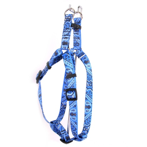 Blue Bandana Step-In Dog Harness