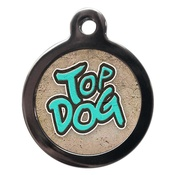 PS Pet Tags - Top Dog Pet ID Tag
