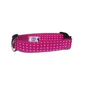 Pet Pooch Boutique - Pink Polka Dot Dog Collar