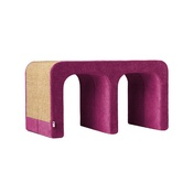 Catworks - Scratching Post - Letter M - Pink