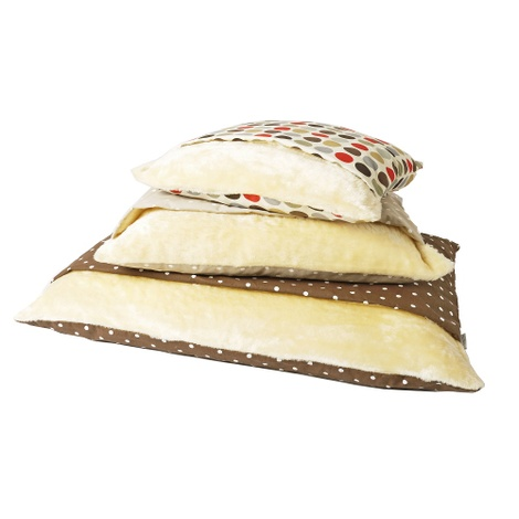 Snuggle Bed - Dotty Chocolate 3