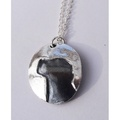 Silver Jack Russell Cameo Necklace 2