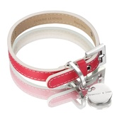 Hennessy & Sons - Saffiano Collar – Fuchsia Pink