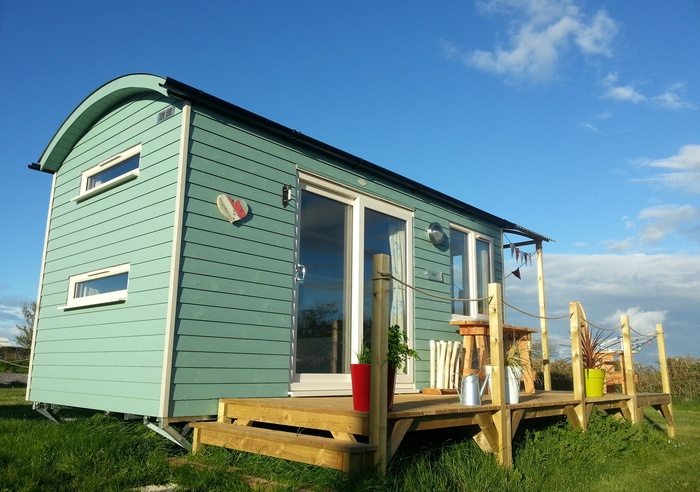 Rhossili Scamper Holidays - Super Grand Shepherd Hut, Swansea 1