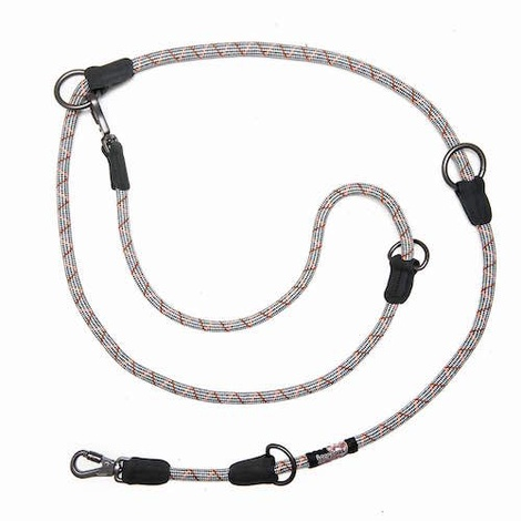 Comfort Rope Training Leash - Grey