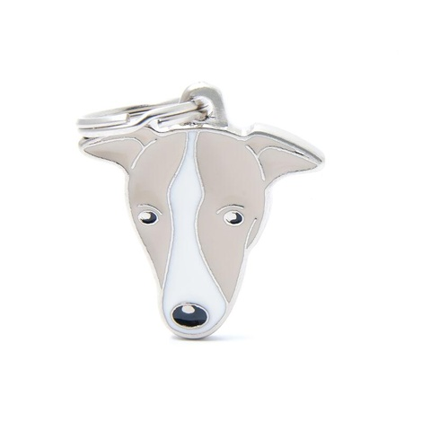Greyhound Engraved ID Tag