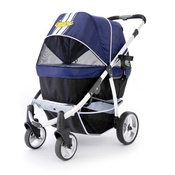 InnoPet - Navy Blue Retro Dog Buggy