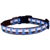 Woof and Meow - Cupcakes Dog Collar