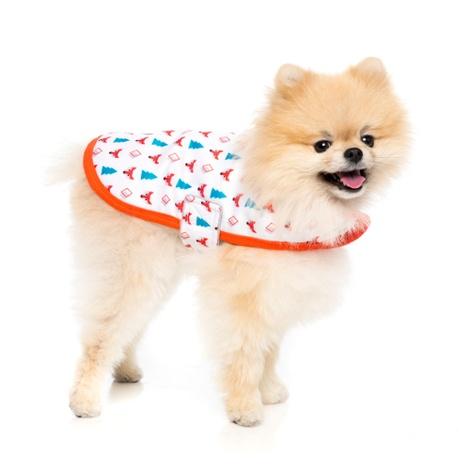 Fox Wrap Dog Coat 2