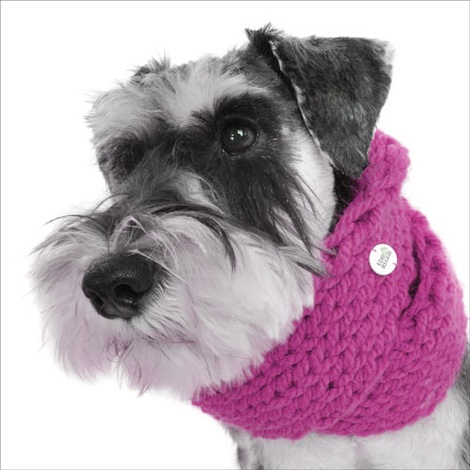 Chunky Funky Snood Scarf - Candyfloss Pink