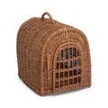 Wicker Pet Carrier Basket