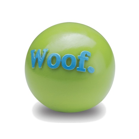 Orbee Tuff Woof Dog Ball - Green