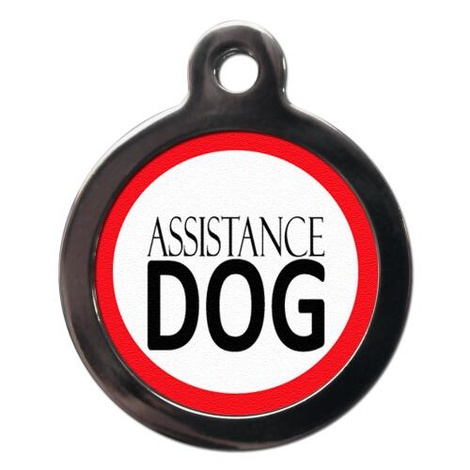 Assistance Dog Pet ID Tag