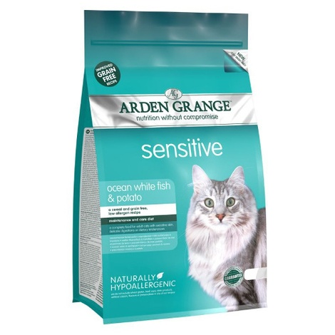 Grain Free Adult Sensitive Dry Cat Food
