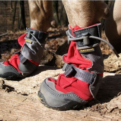 Set of 4 Ruffwear Polar Trex Boots - Red Rock 2