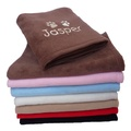 Personalised Fleece Blanket - Milk Chocolate 2