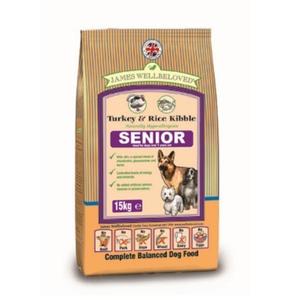 Senior Turkey & Rice Dog Food