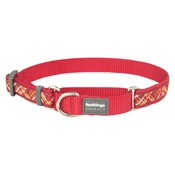 Red Dingo - Flanno Martingale Dog Collar – Red