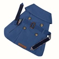 Kensington Dog Trench Coat – Royal Blue & Liberty Karm 2