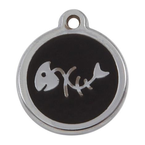 My Sweetie Black Fishbone Pet ID Tag