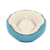 Happy Pet - Sweet Dreams Donut Pet Bed – Blue