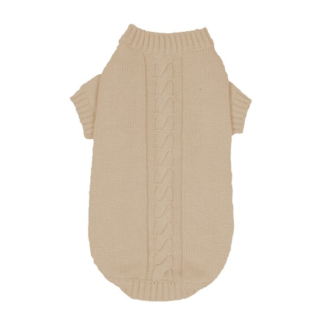 Knitted Dog Jumper – Ivory