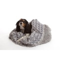 Pooch Pod Dog Bed - Silver 2