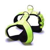 El Perro - 4cm Width Fleece Comfort Dog Harness – Neon Green