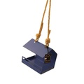 Bauhaus Bird Feeder - Blue 2