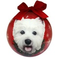 West Highland Terrier Christmas Bauble