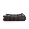 Highlander Grey Lounge Dog Bed 2